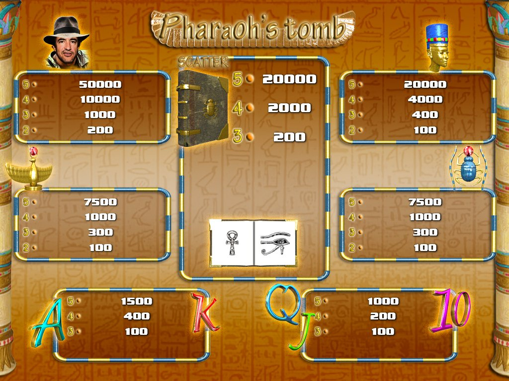 Pharaohs Tomb Online Bingo - Play Online & Win Real Money