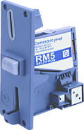 RM5 coin validator with front plate