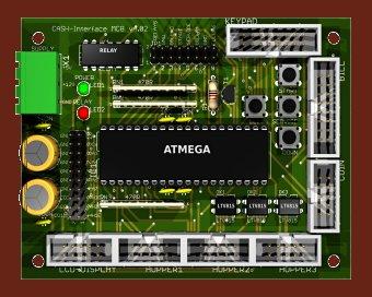 CASH-Interface MC8 credit board