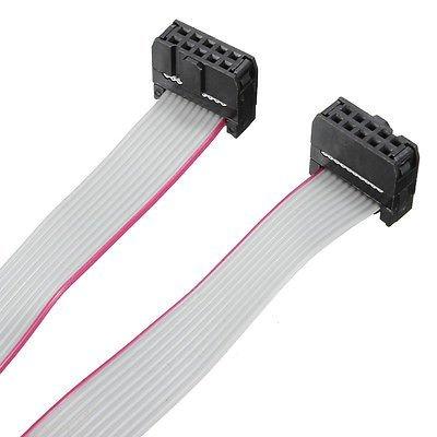 Flat ribbon cable 10pol. 80cm