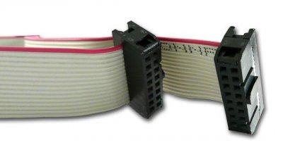 Flat ribbon cable 16pol. 80cm