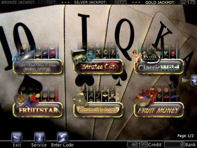 Casinospiele Paket Monatsmiete