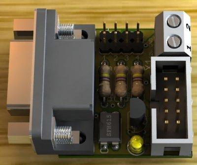 Coin validator PC adapter