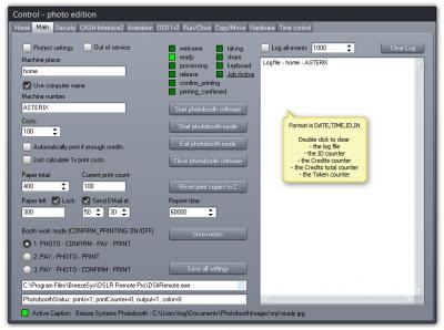 Breeze DSLR Remote Pro photo booth cash control system