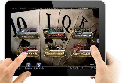 Casino Games Tablet