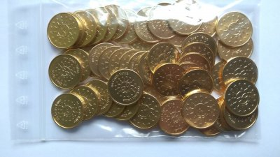 Token 25mm brass