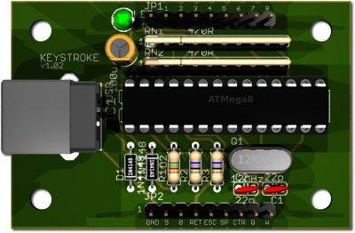 KEYSTROKE-Board
