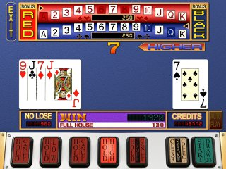VIDEO POKER - Risikospiel